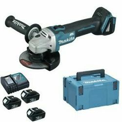 MAKITA AKU BRUSILICA DGA504RFE3 125mm 18V 3X3Ah